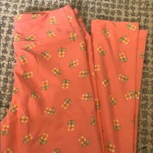 Pretty floral Lularoe tween leggings! New!